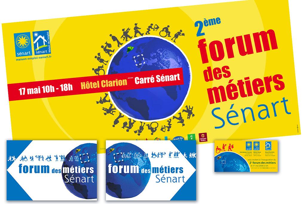 forum des métiers de Sénart